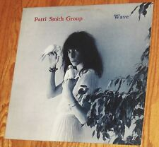 VINYL LP Patti Smith Group - Wave Arista AB 4221 STERLING Greg Calbi