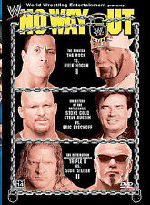 WWE - No Way Out 2003 (DVD, 2003) Wrestling PPV