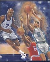 On the Court Basketball Game Sports Wallpaper Border IR2722B