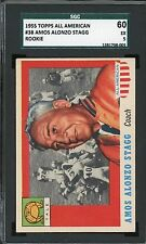 1955 Topps All American #38   Amos Stagg   Yale   SGC 60 !!!