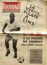 France Football n°1127-1967-INS-DIVISION1-COUPE DE FRANCE 3 E TOUR-OM-
