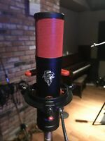 TELEFUNKEN-Neuman U47 U67 TYPE Tube Microphone, LITTLE RED MONSTER