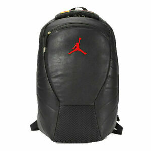 Nike Air Jordan Retro 12 Backpack 9A1773 K25 Black/Red/Gold New Unisex One Size
