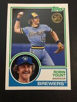 2018 Topps ROBIN YOUNT New Era Promo SP Photo Variant Card Milwaukee Brewers