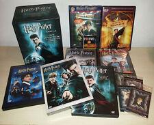 HARRY POTTER ANNI 1-5 + BONUS E GAMES - COLLECTION LIMITED EDITION - BOX 12 DVD