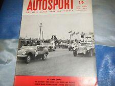 Jim Clark Border Reivers Lotus Elite gana Autosport tres horas 1959 Snetterton