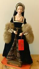 Vintage English Costume Dolls Anne Boleyn by Anne Parker 11' w Tag