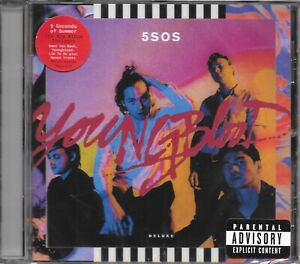 5 SECONDS OF SUMMER - 5 SOS - YOUNGBLOOD CD - NEW AND SEALED