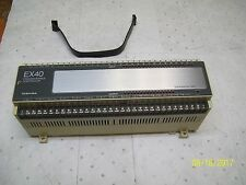 TOSHIBA EX40 PROGRAMMABLE CONTROLLER EXPANSION UNIT , EX40*2EARA5