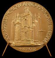 Medal in the Poet Italian Giuseppe Gioachino Belli 1964 Popolo Di Roma Medal