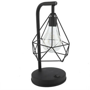 Light Iron Table Lamp Trendy Custom High Temperature Paint For Dining Table