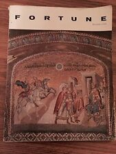 VINTAGE Fortune Magazine December 1960 Chora Church Istanbul Cover