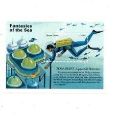 VINTAGE CLASSICS - Sierra Leone 1965 - Fantasies Of The Sea -Souvenir Sheet- MNH