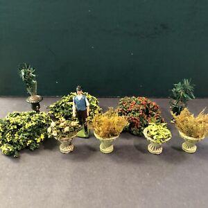 Various Makers: Garden Shrubs & Plants. 54mm Models