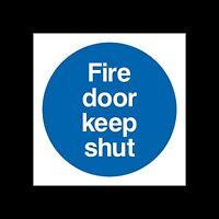 plastica segno o Adesivo Fire Exit finale ee75 tutte le taglie
