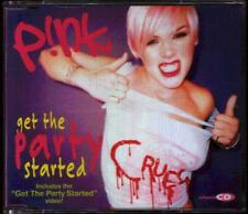 PINK Get The Party Started  CD 4 Tracks, Radio Mix/K5 Werk Kraft Mix Feat Spoonf