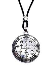 Archangel Uriel Pendant Talisman Sigil Evocation Beaded Cord Necklace