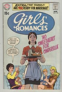Girls' Romances #147 March 1970 VG No Sweetheart For Cinderella