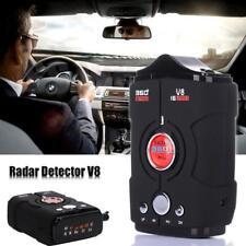 Radar Detector Voice Alert Car Laser Speed 16 Band LED V8 360 Degree Gps Police