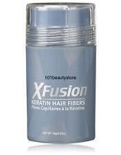 XFUSION Keratin Hair Fibers - BLACK 0.53oz **NEW.UNBOXED**