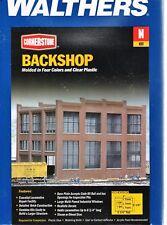 N Scale Walthers Cornerstone 933-3227 Backshop Building Kit