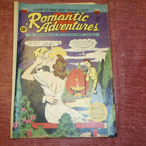 ROMANTIC ADVENTURES THE MAGAZINE OF YOUTH AND LOVE #9  JULY-AUGUST 1950 (kf)