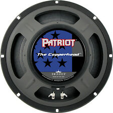 "Eminence The Copperhead 10"" Guitar speaker 8 ohm Patriot Series 75 watt SALE"