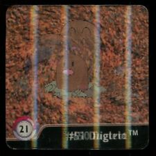 FLIPZ - POKEMON - SERIE ONE 3D - N° 21 #50 51 DUGTRIO DIGLETT