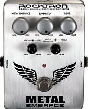 ROCKTRON METAL EMBRACE DISTORTION EFFECTS PEDAL BRAND NEW!