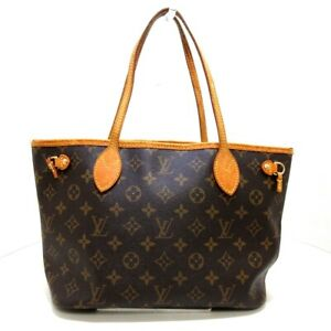 Auth LOUIS VUITTON Neverfull PM M40155 Monogram MB4027 Womens Tote Bag