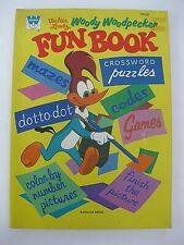Vintage Woody Woodpecker Childrens Coloring Fun Book 1971 Walter Lantz Dot Games