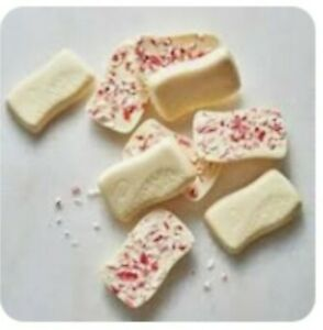 Peppermint Mini Bars With Dove White Chocolate Limited Ed by The Cocoa Exchange