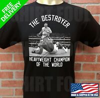ANDY RUIZ JR. ***THE DESTROYER*** HEAVYWEIGHT CHAMPION OF THE WORLD T-SHIRT