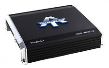 Autotek 4 Channel 1000 Watt Amp Car Audio Class A/B Power Amplifier | TA1050.4