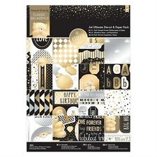 DOCRAFTS PAPERMANIA FOREVER FRIENDS CLASSIC DECADENCE A4 DIE CUT & PAPER PACK