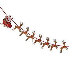Santa & Reindeer Christmas Bunting 1.8m