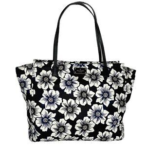 kate spade New York Taden Blake Avenue Floral Print Nylon Tote - Shoulder Bag