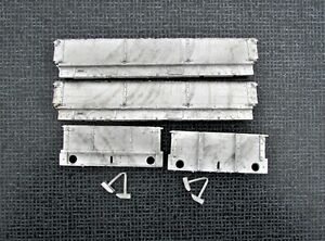 7mm Scale ABS MR/LMS/BR 3 plank dropside wagon body castings