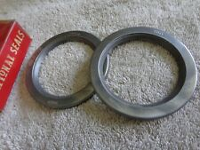 1959 60 61 62 63 4X4 FORD F100  F250 & CHEVROLET 1/2 Ton + Front Wheel Seals NOS