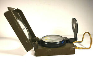 Metal Pocket Army Style Compass, Military, Camping, Hiking Survival, from 1980's