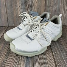 Ecco Biom Womens Walking Running Shoes Natural Motion Size 37 US Size 6.5 White