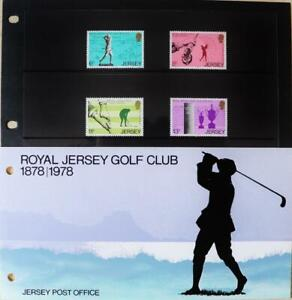"""Jersey Stamps """"Royal Golf Club-100th Anniversary"""" MNH Presentation Pack 1978"""