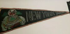 Vintage New York Yankees Pennant  Banner Bronx Stadium Hand Made One of a Kind