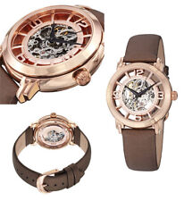 Stuhrling Winchester Automatic Skeleton Rose Watch 156.124T14