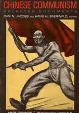 CHINA DAN JACOBS CHINESE COMMUNISM 1963