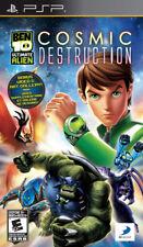 Ben 10 Ultimate Alien: Cosmic Destruction PSP New Sony PSP
