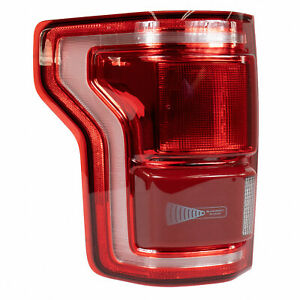 15 thru 17 F-150 OEM Genuine Ford LH Driver LED Tail Lamp Light w/ Blind Spot