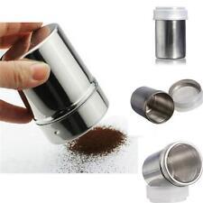 NEW Salt Pepper Spice Sugar Shaker Dispenser Heavy Duty Stainless Steel Dredge