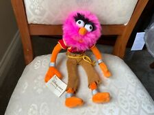 """DISNEY STORE 12"""" MUPPETS ANIMAL SOFT TOY PLUSH WITH TAGS VGC"""