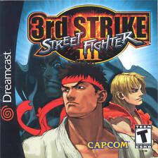"""Sega Dreamcast ( 2.5"""" X 3.5"""" FRIDGE MAGNET ) Street Fighter 3rd Strike Box Cover"""
